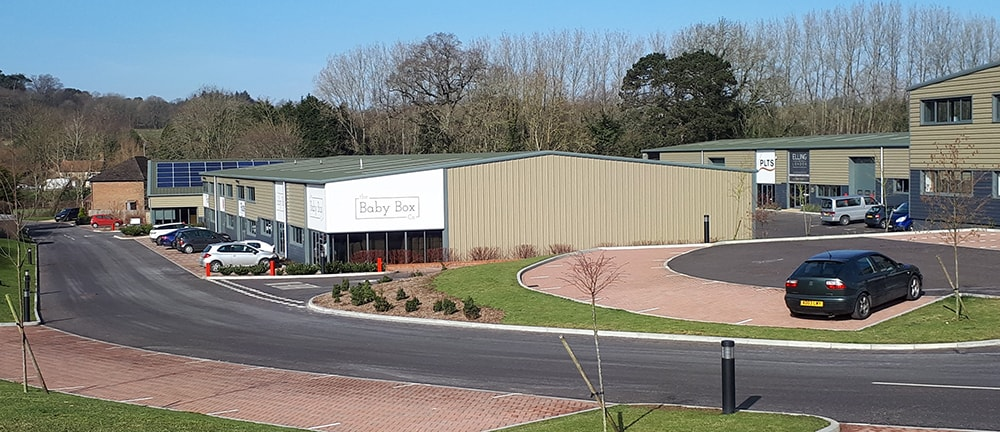 A view of one of Horsham District's industrial estates